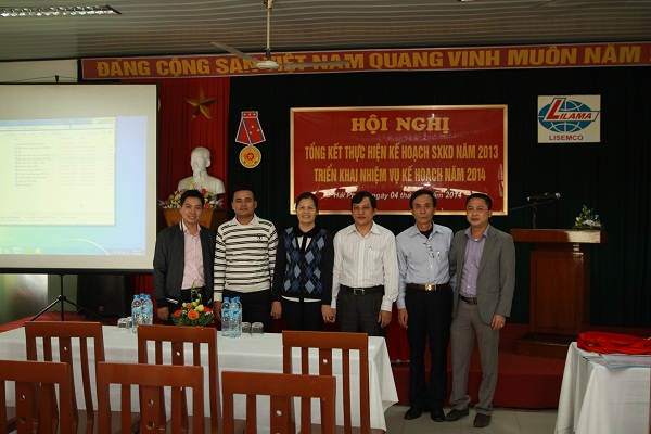 Conference to review business-production plan in 2013, implement plan for 2014 and emulation movement ceremony to implement work volume committed by workshops in 2014